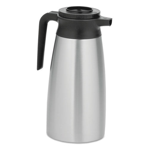 1.9 Liter Thermal Pitcher, Stainless Steel-black