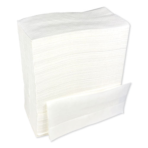 "Tallfold Dispenser Napkin, 12"" X 7"", White, 500-pack, 20 Packs-carton"