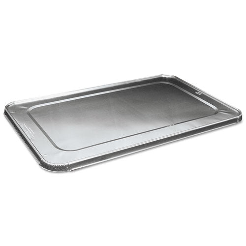 Full Size Aluminum Steam Table Pan Lid, Deep, 50-carton