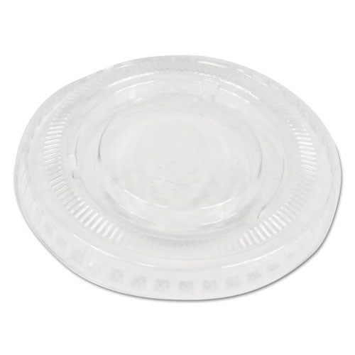 Soufflé-portion Cup Lids, Fits 1 Oz Portion Cups, Clear, 2500-carton