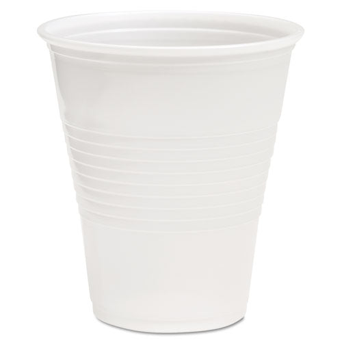 Translucent Plastic Cold Cups, 14oz, Polypropylene, 50-pack
