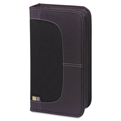 Cd-dvd Wallet, Holds 72 Discs, Black