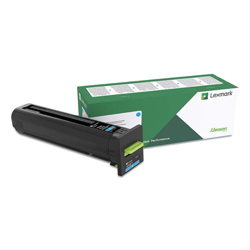 82k0xcg Extra High-yield Return Program Toner Cartridge, 22,000 Page-yield, Cyan