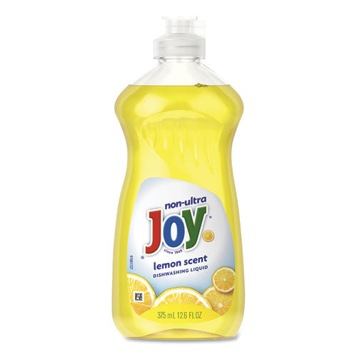 Dishwashing Liquid, Lemon, 12.6 Oz Bottle, 12-carton