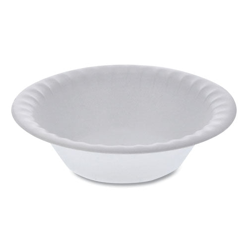 "Unlaminated Foam Dinnerware, Bowl, 6"" Diameter, 12 Oz, White, 1,000-carton"