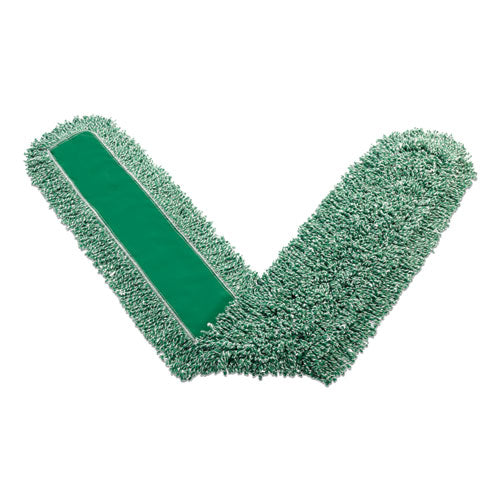 "Microfiber Dust Pads, 72"" Long, Green"