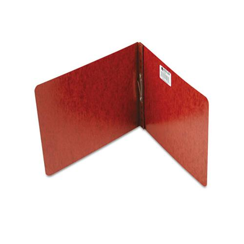 "Pressboard Report Cover, Prong Clip, Letter, 2"" Capacity, Red"