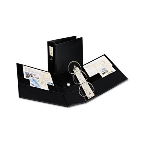 "Durable Non-view Binder With Durahinge And Ezd Rings, 3 Rings, 5"" Capacity, 11 X 8.5, Black, (8901)"