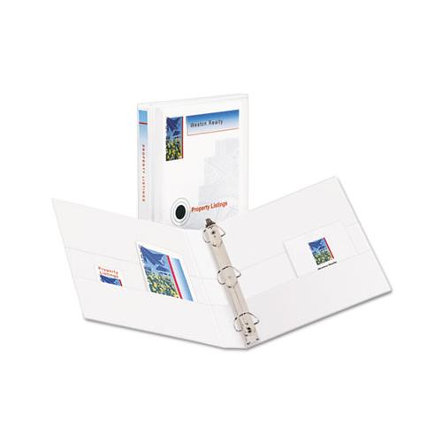 "Durable View Binder With Durahinge And Ezd Rings, 3 Rings, 1"" Capacity, 11 X 8.5, White, (9301)"