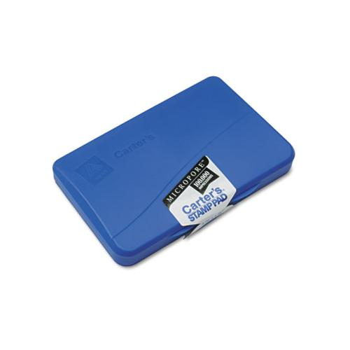 Pre-inked Micropore Stamp Pad, 4.25 X 2.75, Blue
