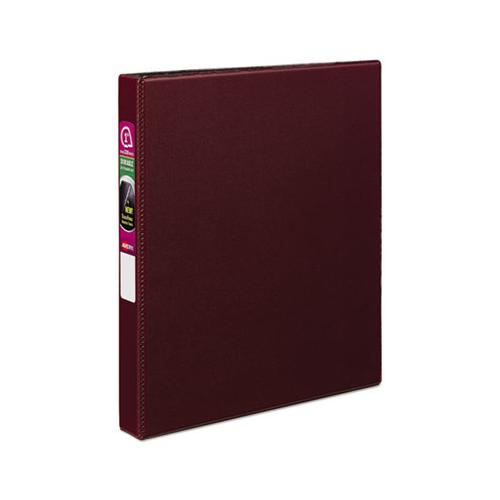 "Durable Non-view Binder With Durahinge And Slant Rings, 3 Rings, 1"" Capacity, 11 X 8.5, Burgundy"