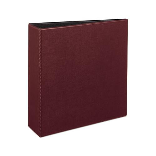 "Durable Non-view Binder With Durahinge And Slant Rings, 3 Rings, 3"" Capacity, 11 X 8.5, Burgundy"