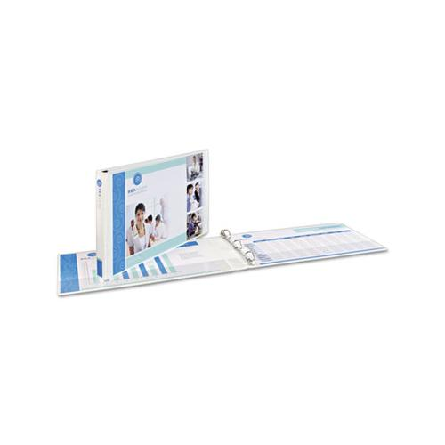 "Heavy-duty View Binders, 3 Rings, 1.5"" Capacity, 11 X 17, White"