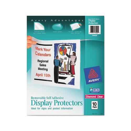 Top-load Display Sheet Protectors, Letter, 10-pack