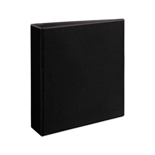 "Heavy-duty View Binder With Durahinge And One Touch Ezd Rings, 3 Rings, 2"" Capacity, 11 X 8.5, Black"