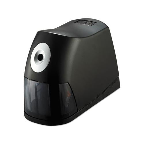 "Electric Pencil Sharpener, Ac-powered, 2.75"" X 7.5"" X 5.5"", Black"