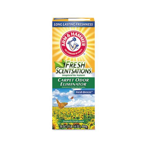 Fresh Scentsations Carpet Odor Eliminator, Fresh Breeze, 30 Oz Box
