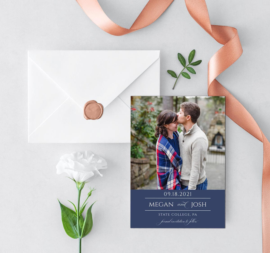 Happy Union Save the Date Photo Card
