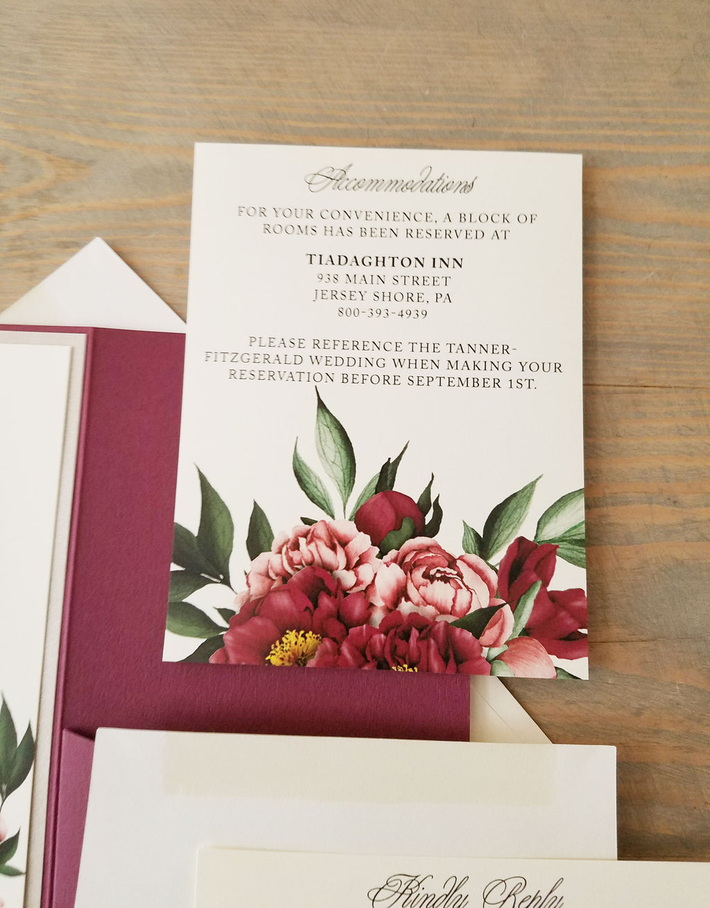 Wedding Invitations – Raspberry Creative