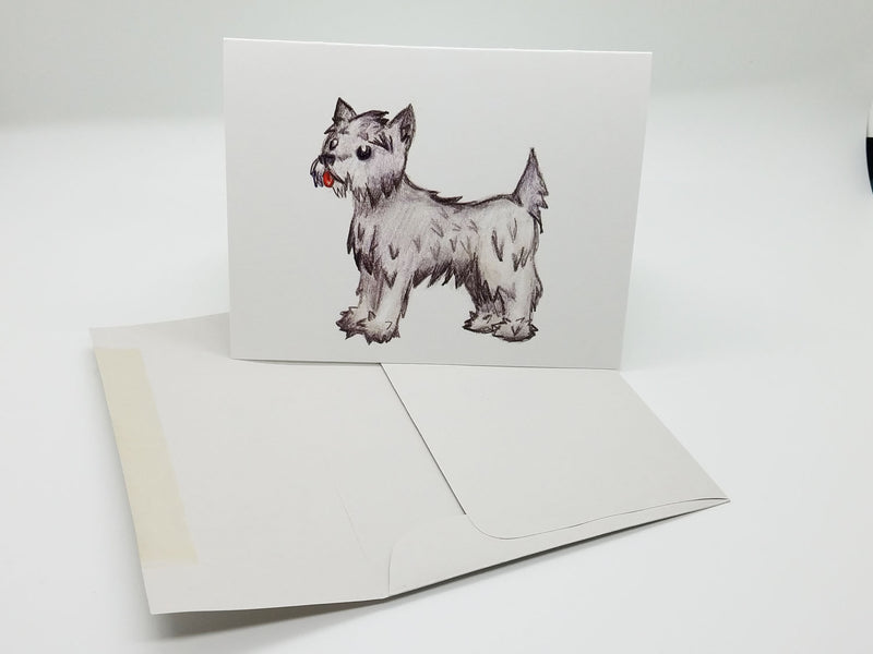 Cairn Terrier Note Card