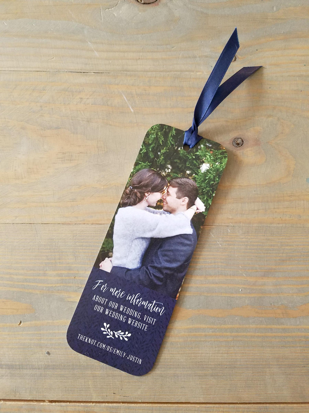 Rustic Barn Wedding Bookmark Save the Date