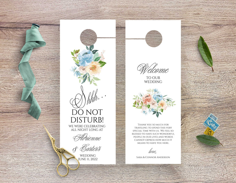 Wanderlust Do Not Disturb Door Hanger