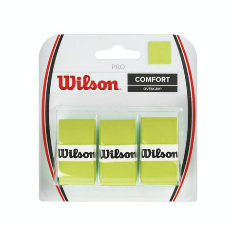 Wilson Pro Comfort Overgrip (3pk) Optic Green