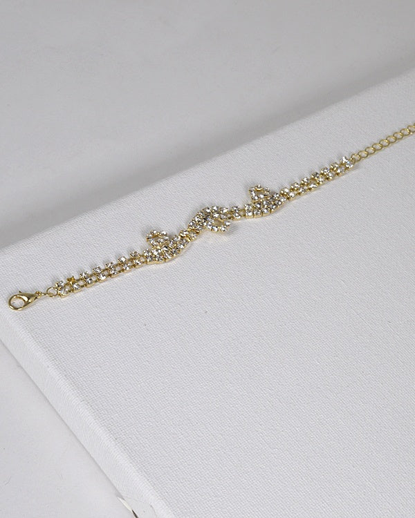 Diamond Bracelet - Gold/Silver
