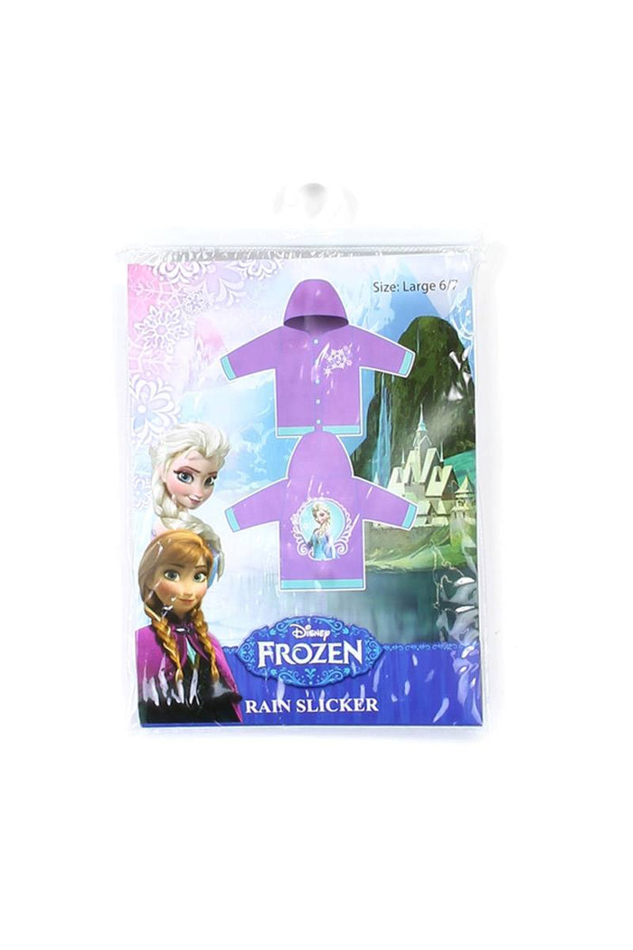 Girl frozen 2-7 rain slicker