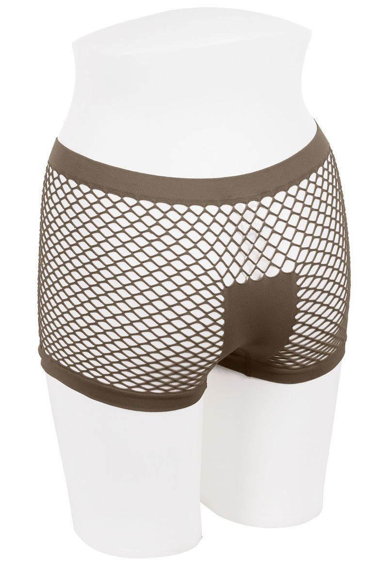 Ladies fishnet boyshort