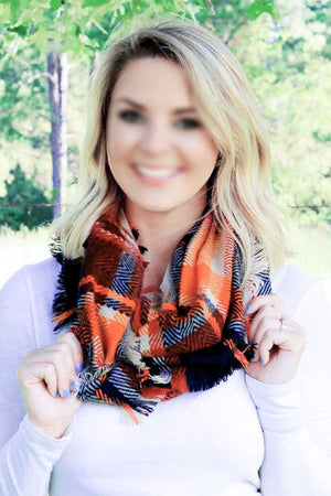 Autumn Summit Infinity Scarf