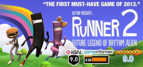 BIT.TRIP Presents... Runner2: Future Legend of Rhythm Alien - Swipe Gaming