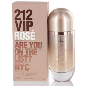 212 Vip Rose By Carolina Herrera 2.7 OZ