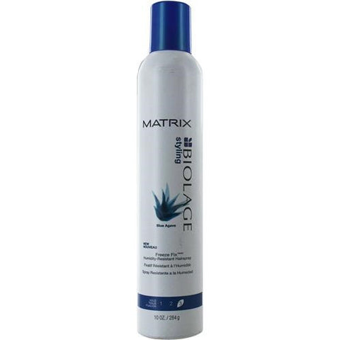 Biolage Blue Agave Freeze Fix Hair Spray By Matrix 10.1 OZ
