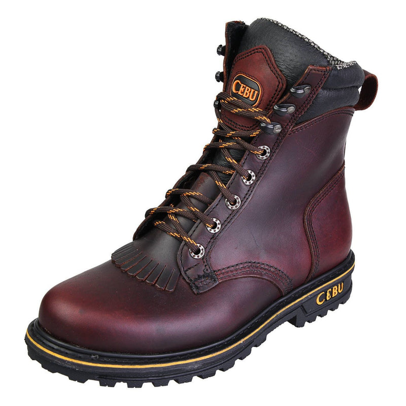 "Men's Work Boots - Heavy Duty - Shedron Work Boots - Cebu - 8"" Work Boots - Shedron 8in Work Boots"