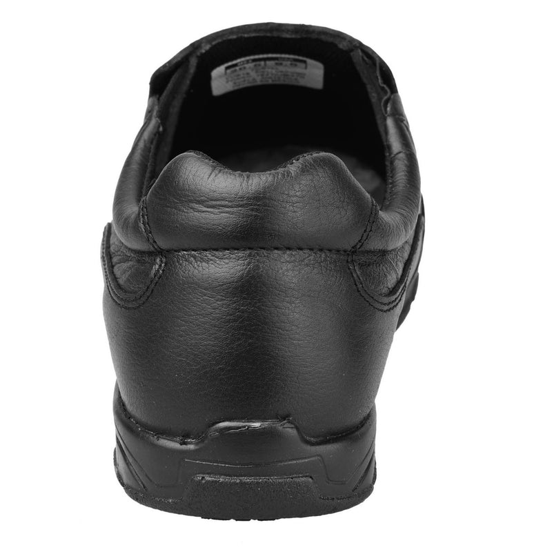 Women's Work Shoes - Non Slip - Black Work Shoes - Fortal - Slip On Work Shoes - Black Slip On Shoes