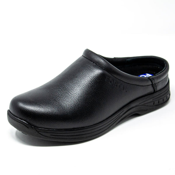 Women's Work Shoes - Non Slip - Black Work Shoes - Fortal - 0 - Negro Shoes