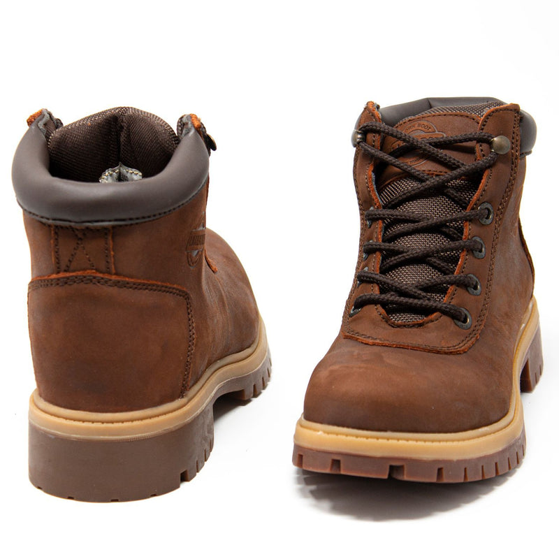 "Women's Work Boots - Heavy Duty - Brown Work Boots - Labrador - 6"" Work Boots - Copper 6in Work Boots"