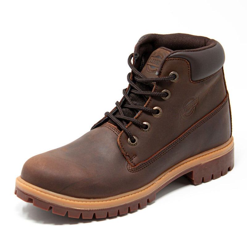 "Men's Work Boots - Heavy Duty - Brown Work Boots - Labrador - 6"" Work Boots - Taupe 6in Work Boots"
