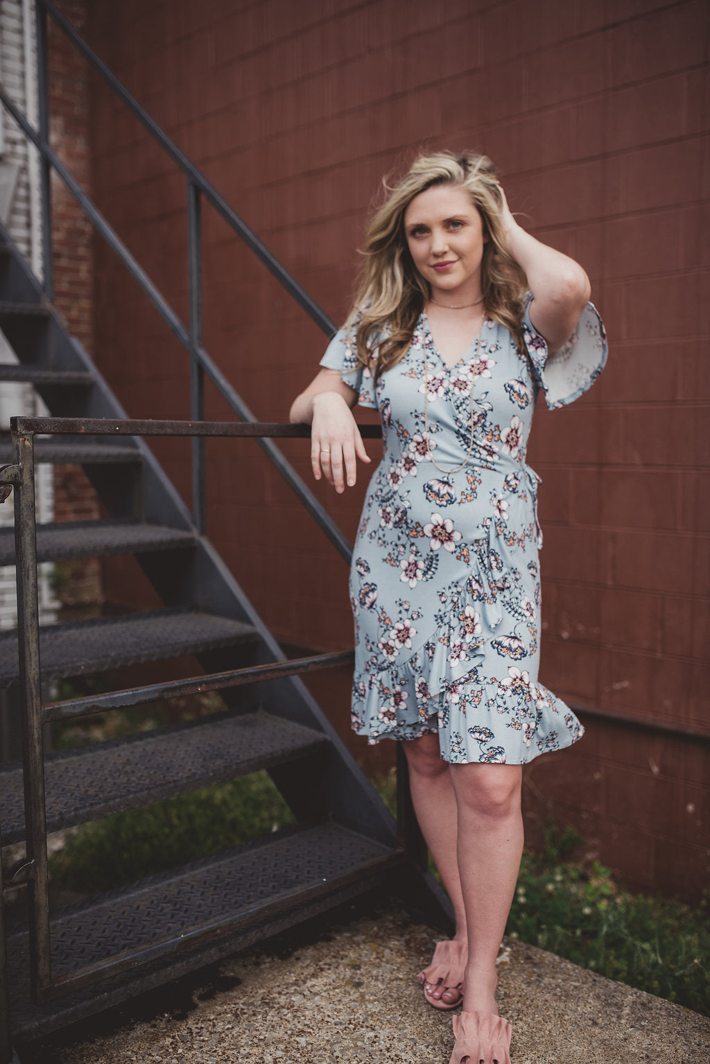 Coralee Wrap Dress