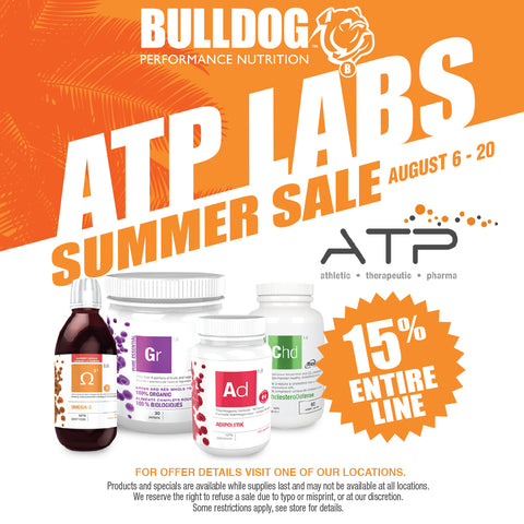 ATP Lab In-Store Sale August 6-20 2019
