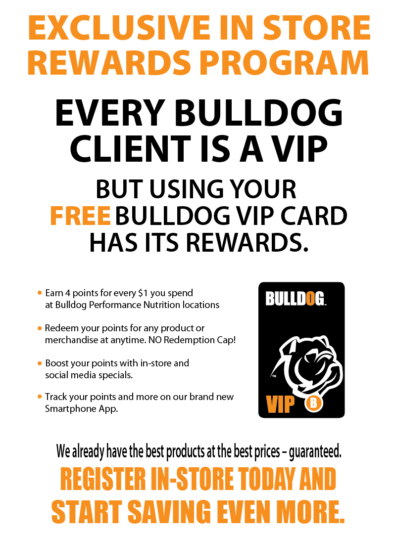Bulldog Performance VIP Rewards Canada