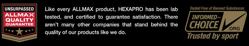 Allmax HexaPro Protein Powder Guarantee