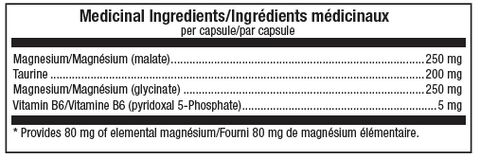 ATP Lab SynerMag Magnesium Supplement Facts