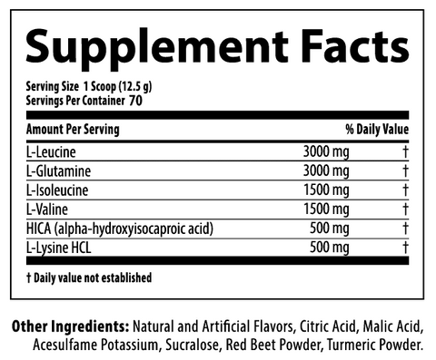 Nutrabolics Anabolic State Supplement Facts