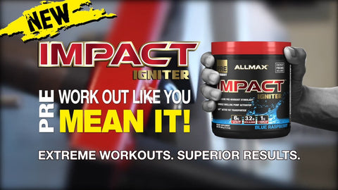 Allmax Impact Igniter Pre Workout Supplements