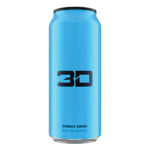 3D Energy Drink Blue