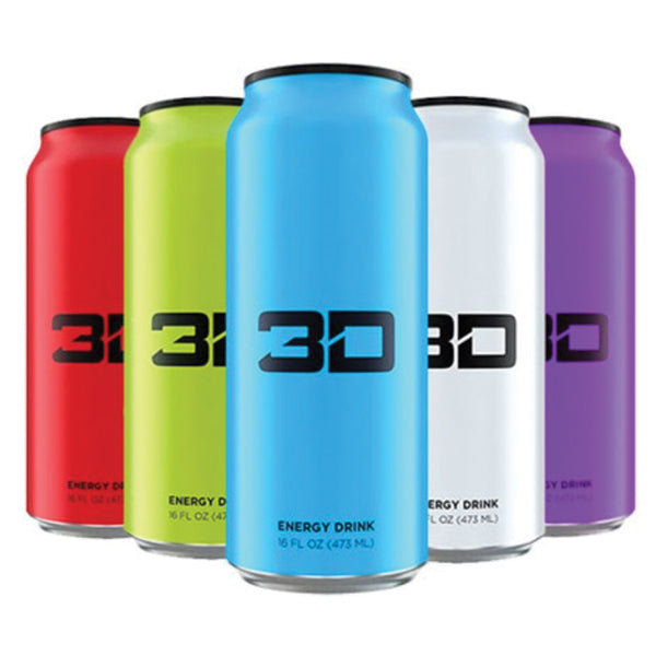 3D Energy Drinks Canada