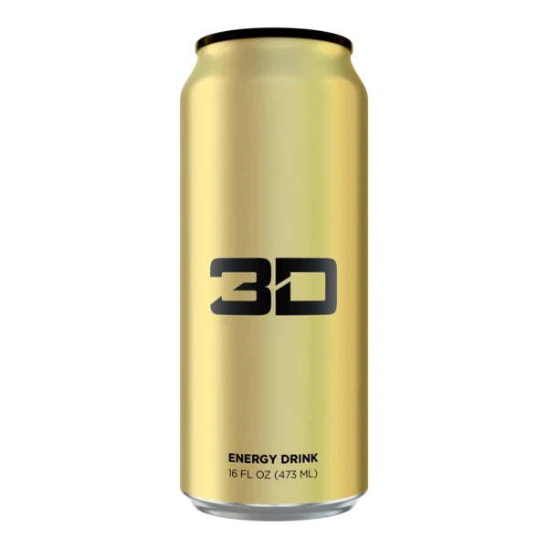 3D Energy Drink Gold Pina Colada