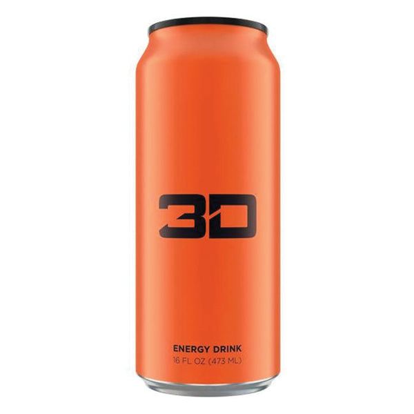 3D Energy Drinks Orange
